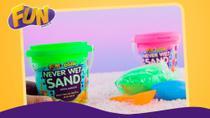 Areia Mágica Never Wet Sand - FUN -