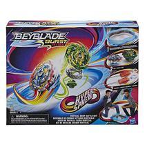Arena de Batalha e Lançadores Beyblade Burst Rise  Hasbro E7609 -