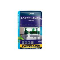 Argamassa Colante para Porcelanato Interno Cinza 20kg - Fortaleza