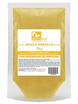 Argila Amarela 1 KG Dermare Rejuvenescimento -
