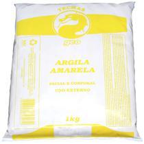 Argila Facial e Corporal Amarela 1KG GEO -