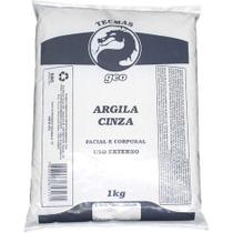 Argila Facial e Corporal Cinza 1KG GEO -