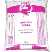 Argila Facial e Corporal Rosa 1KG GEO -