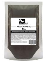 Argila Preta 1 KG Dermare Desintoxicante -