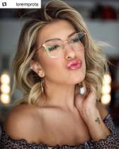 Armação Óculos de Grau Feminina Gatinho Zoe - Palas Eyewear