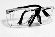 Armação Óculos PROTEÇÃO COM CLIPE INTERNO P/ Lentes De Grau Delta CARBOGRAFITE Incolor -
