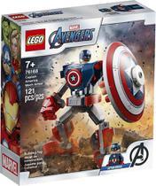 Armadura Robô do Capitão América Lego Super Heroes Marvel -