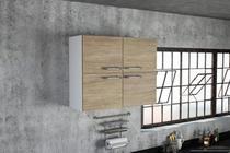 Armário Aéreo para Cozinha 4 Portas Floripa Politorno -
