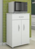 Armário Balcão 2 Portas Cozinha Microondas Bebedouro Multiuso - Clickforte