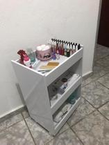 Armário Balcão Móvel Para Lavanderia & Cozinha Multiuso Com Rodas - ClickForte