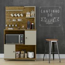 Armário Cantinho do Café com 2 Portas Aconchego Patrimar -