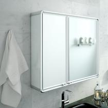 Armário De Banheiro Astra LBP16-S Retangular 2 Portas Com Espelho -