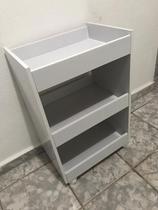 Armário De Chão Pequeno Porta Toalhas - Clickforte