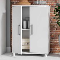 Armário de cozinha 2 portas bmu105 branco - brv móveis - Brv - Móveis