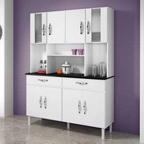 Armário de Cozinha 8 Portas 2 Gavetas Ventura CHF Branco -