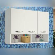 Armário de Cozinha Compacto Branco 3 Portas MOD-03 - Girus
