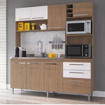 Armário de Cozinha Completo 1,86m Espaço para 2 Fornos Blume 173 Casamia -