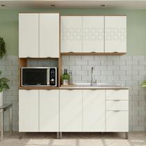 Armário de Cozinha completo 3 peças CB615 Lótus Kappesberg -