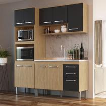 Armário de Cozinha completo 3pc 1,85m Bélgica A3097 Casamia -