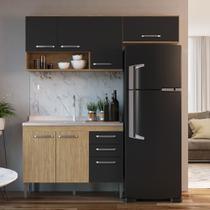 Armário de Cozinha completo 3pc 1,90m Bélgica A3096 Casamia -