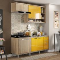 Armário de Cozinha Completo 4 peças sem tampo de pia 1,90m 5810 Linha Sicília Multimóveis -