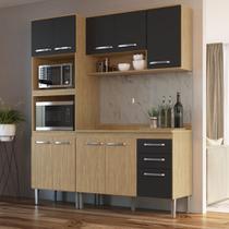 Armário de Cozinha completo 4pc 1,85m Bélgica A3094 Casamia -