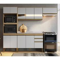 Armário de Cozinha completo 4pc 2,55m Casablanca A3496 Casamia -