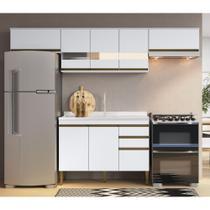 Armário de Cozinha completo 4pc 2,60m Casablanca A3495 Casamia -