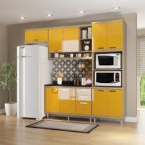 Armário de Cozinha Completo 5 peças 2,60m 5829 Linha Sicília Multimóveis -