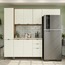 Armário de Cozinha completo 5 peças CB572 Lótus Kappesberg -