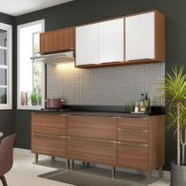 Armário de Cozinha Completo 5pc 1,90m Calábria 5459 Multimóveis -