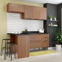 Armário de Cozinha Completo 5pc 1,90m Calábria 5460 Multimóveis -