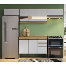 Armário de Cozinha completo 5pc 2,60m Casablanca A3490 Casamia -