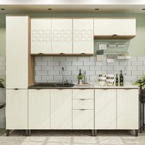 Armário de Cozinha completo 6 peças CB571 Lótus Kappesberg -