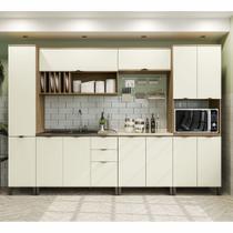 Armário de Cozinha completo 7 peças CB570 Lótus Kappesberg -