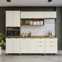 Armário de Cozinha completo 7 peças CB598 Lótus Kappesberg -