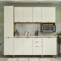 Armário de Cozinha completo 8 peças CB574 Lótus Kappesberg -