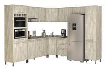 Armário de Cozinha Completo Ravena Ártico - Vitamov -
