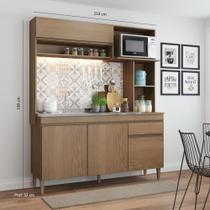 Armário de Cozinha Completo Rebeca 1,53m 0321 Soluzione Móveis -
