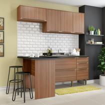Armário de Cozinha Completo sem Tampo 4pc 1,90m Calábria 5460 Multimóveis -