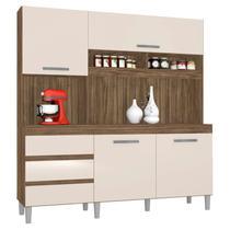 Armário de Cozinha Kit Florença 4 Portas Teka Champanhe - Incorplac -