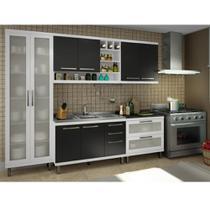 Armário de Cozinha Modulada Slim 7 peças - Ws