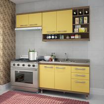 Armário de Cozinha Modulada Verônica 04 Peças - Ws