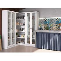 Armário de Cozinha Portuguesa Siena Móveis Branco -