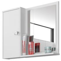 Armário Espelheira 1 Porta Gênova Bechara -
