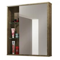 Armário Espelheira para Banheiro 1 Porta Miami Bechara -