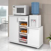 Armário Fruteira 310 Benetil Móveis Branco -