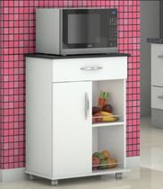 Armário Fruteira Porta Microondas Multiuso Chão Cozinha - Clickforte