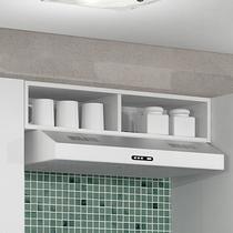 Armário geladeira com nichos Decari 31030 - Palmeira