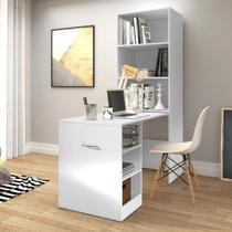 Armário multifuncional/multiuso e mesa retrátil com organizador Multimóveis -